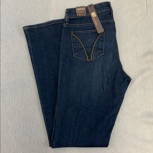 Kut from the Kloth Farrah Baby Bootcut Jeans